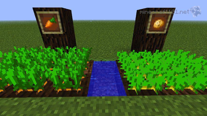 Minecraft Farm Fence