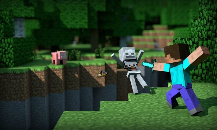 survival mode in Minecraft