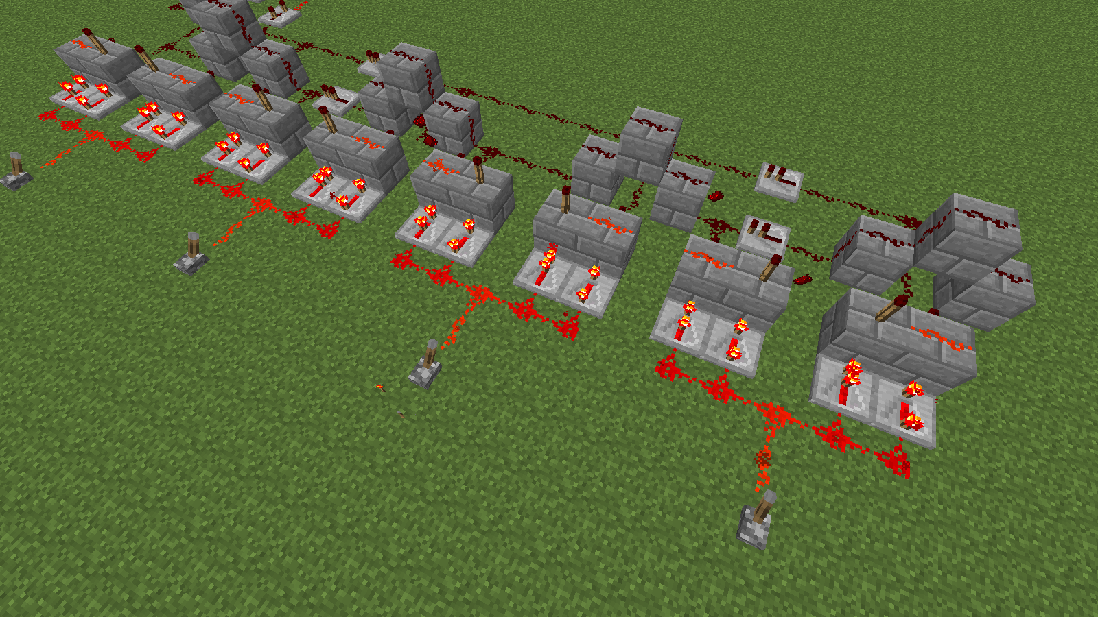 how to build redstone circuits rh blog connectedcamps com Redstone Circuits Redstone Lamp Wiring
