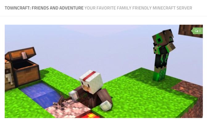 Towncraft Minecraft Server