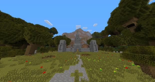 free download map minecraft pvp
