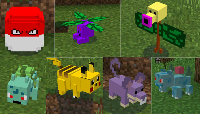 Pixelmon Mod: Kid-friendly Minecraft Mod