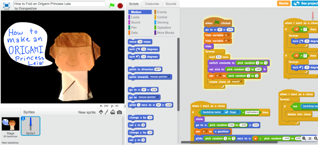 Creative Coding in Scratch