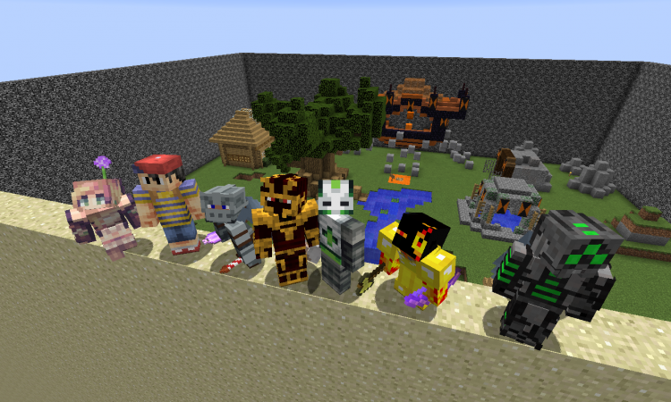 What We Did This Summer Ender Dragons Parkour Cow Paradise And Turtle Bombers In Minecraft Camp