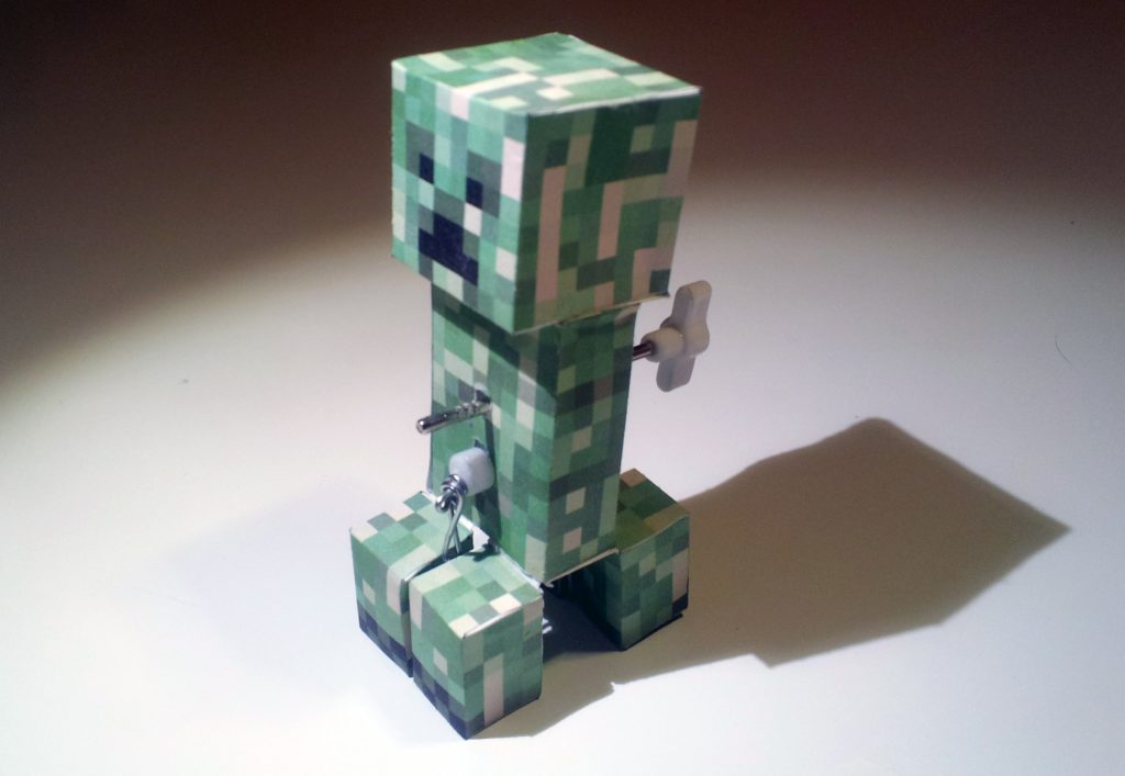 Wind-up creeper