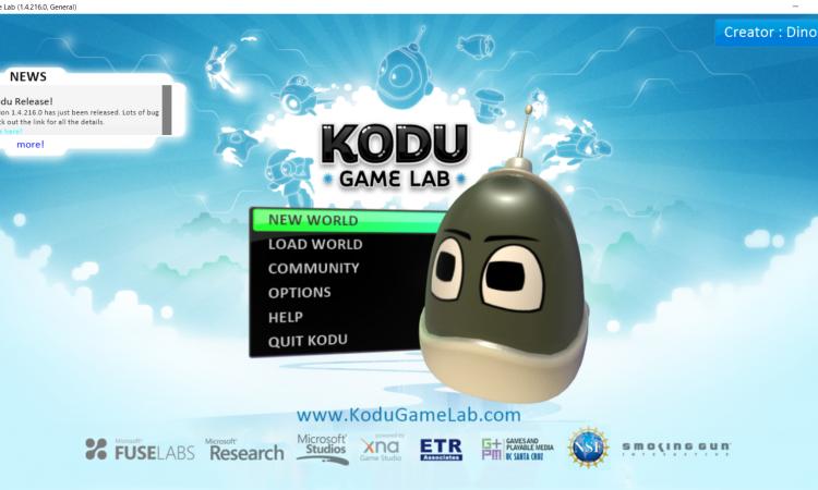 kodu game lab free